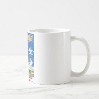 New Worlds 1951_Pulp Art Basic White Mug
