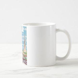 New Worlds 40_Pulp Art Basic White Mug