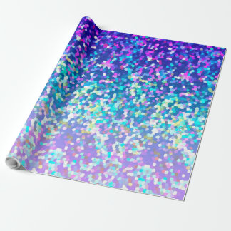 New Wrapping Paper Glitter Graphic