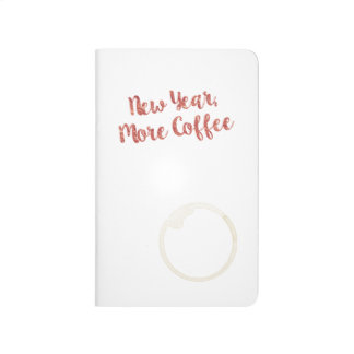 New Year, More Coffee Planner Journal