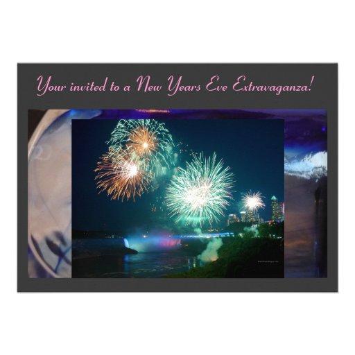 New Years Eve Celebration Invitation..