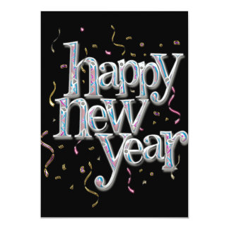 New Years Eve Confetti Card