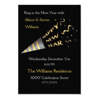 New Years Eve Party design. Card