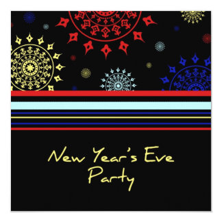 New Year's Eve Party Invitation Card