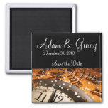 New Years Eve Save the Date Fridge Magnets