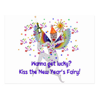 New Year's Fairy Postcard