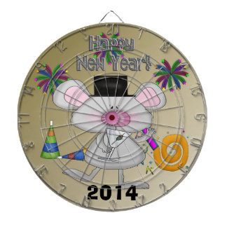New Year's Mouse Dart Board