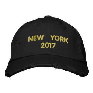 NEW YORK 2017 EMBROIDERED BASEBALL CAP