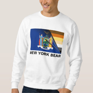 New York Bear Pride Flag Sweatshirt