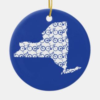 New York Bike Christmas Ornament