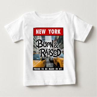 New  York Born & Raised Baby T-Shirt