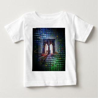 New York - Brooklyn Bridge Baby T-Shirt