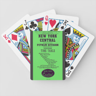 New York Central Railroad Putnam Division Bicycle Playing Cards