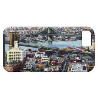 New York City Brooklyn and Williamsburg Bridges iPhone 5 Case