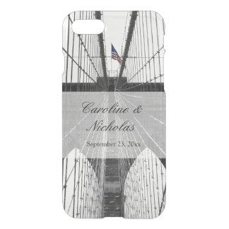 New York City Brooklyn Bridge Wedding iPhone 8/7 Case