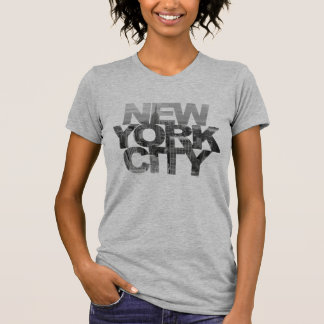 New York City (Clipping Mask Text) T-Shirt