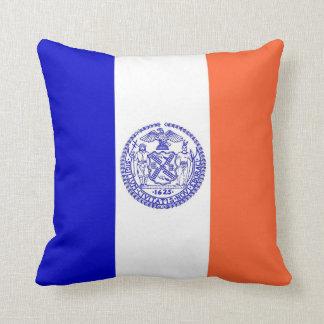 New York City Flag American MoJo Pillow