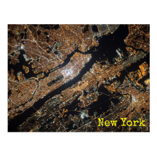 New York City from space Postcard