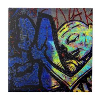 New York City Graffiti Street Photo Tile