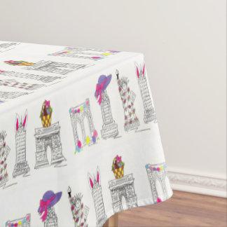 New York City Happy Easter NYC Landmarks Brooklyn Tablecloth