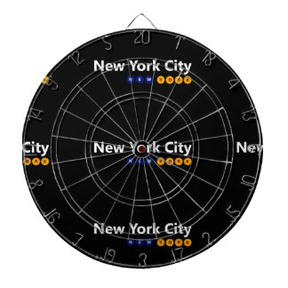 New York City, New York Metal Cage Dartboard