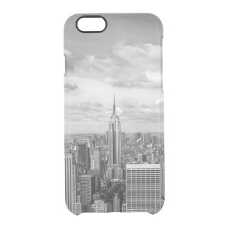 New York City NY NYC skyline wanderlust travel Clear iPhone 6/6S Case