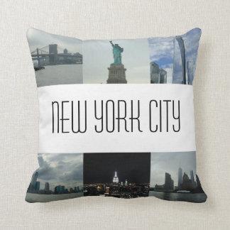 New York City Photo Cushion Souvenir