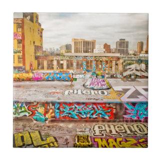 New York City's graffiti site Small Square Tile