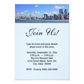 New York City Skyline Invitations