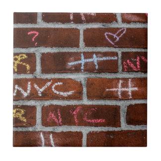 New York City Street Graffiti Photo Tiles