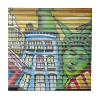 New York City Small Square Tile