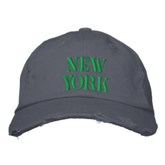NEW YORK EMBROIDERED HAT