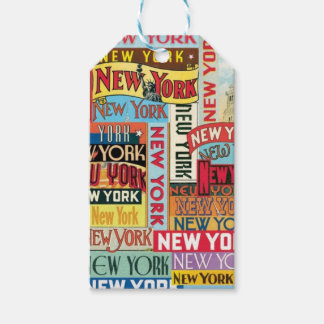 New York New York Gift Tags
