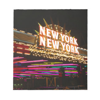 New York New York in Vegas Notepad