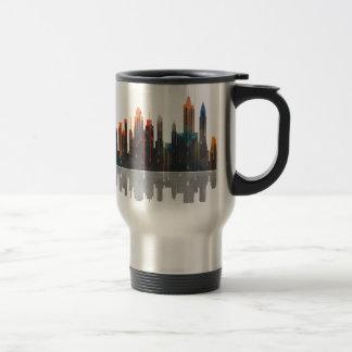 New York New York Skyline Travel Mug