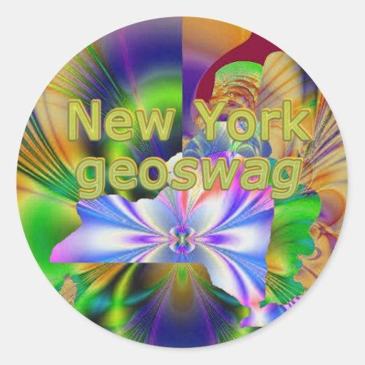New York NY Geocaching Supplies Stickers Geoswag
