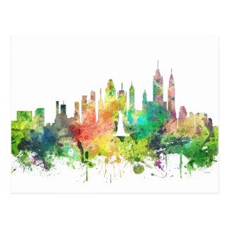 NEW YORK, NY SKYLINE SP - POSTCARD