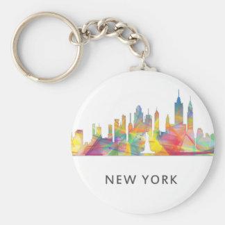 NEW YORK, NY SKYLINE WB1 - KEY RING