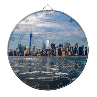 New York Skyline New York City City Manhattan Dartboard