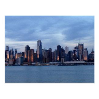 New York Skyline Post Card
