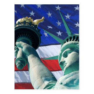 New York Statue Of Liberty Postcards