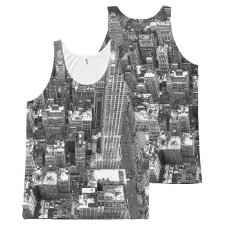 New York Tank Top Empire State View NYC Shirts
