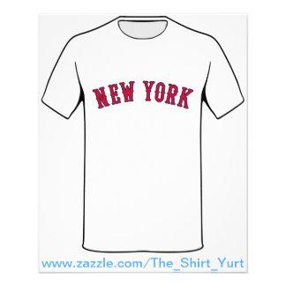 New York Versus Boston Rivals Flyer