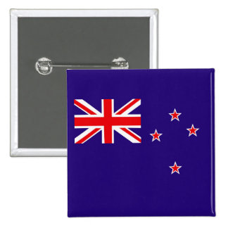 New Zealand 15 Cm Square Badge