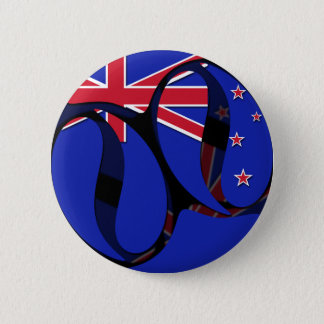 New Zealand #1 6 Cm Round Badge