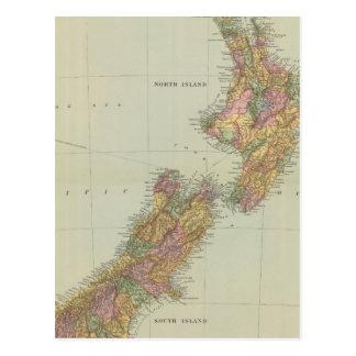 New Zealand 3 Postcard