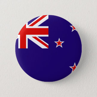 New Zealand 6 Cm Round Badge