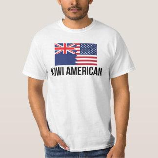 New Zealand American Flag T-Shirt