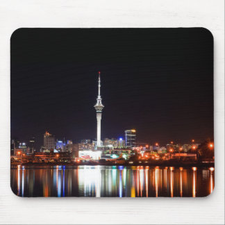 New Zealand: Auckland at Night Mouse Pad