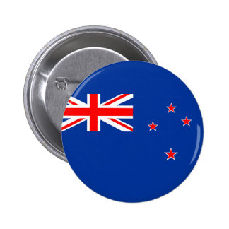 new zealand country flag nation symbol 6 cm round badge